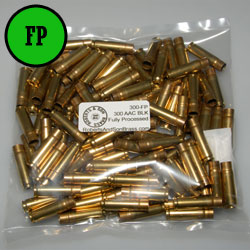 300 BLK Brass Fully Processed (100 Sample Pack)
