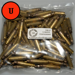 5.56/223 Brass Unprocessed (100 Sample Pack)