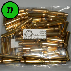 7.62/308 Brass Fully Processed (50 Sample Pack)